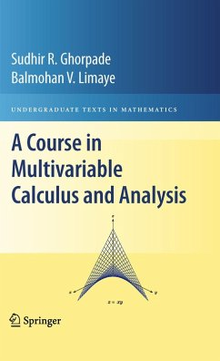 A Course in Multivariable Calculus and Analysis (eBook, PDF) - Ghorpade, Sudhir R.; Limaye, Balmohan V.