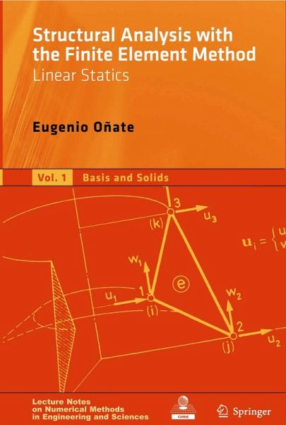 Structural Analysis with the Finite Element Method  Linear Statics (eBook,  PDF)