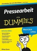 Pressearbeit für Dummies (eBook, ePUB)