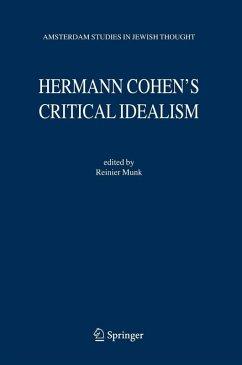 Hermann Cohen's Critical Idealism (eBook, PDF)