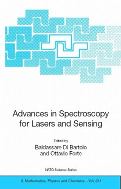 Advances in Spectroscopy for Lasers and Sensing (eBook, PDF)