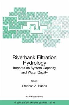 Riverbank Filtration Hydrology (eBook, PDF)