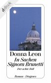 In Sachen Signora Brunetti / Commissario Brunetti Bd.8 (eBook, ePUB)