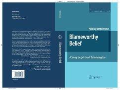 Blameworthy Belief (eBook, PDF) - Nottelmann, Nikolaj