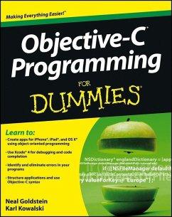 Objective-C Programming For Dummies (eBook, ePUB) - Goldstein, Neal