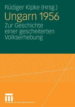 Ungarn 1956 (eBook, PDF)