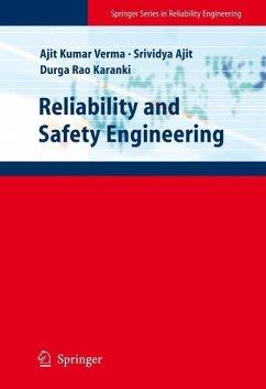 Reliability and Safety Engineering (eBook, PDF) - Verma, Ajit Kumar; Ajit, Srividya; Karanki, Durga Rao