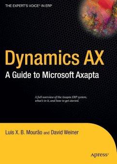 Dynamics AX (eBook, PDF) - Weiner, David; Mourão, Luis X. B.
