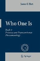 Who One Is (eBook, PDF)