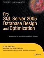 Pro SQL Server 2005 Database Design and Optimization (eBook, PDF) - Windisch, Kurt; Kline, Kevin; Davidson, Louis