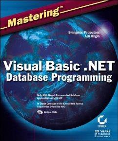 Mastering Visual Basic .NET Database Programming (eBook, PDF) - Petroutsos, Evangelos; Bilgin, Asli