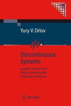 Discontinuous Systems (eBook, PDF) - Orlov, Yury V.