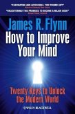 How To Improve Your Mind (eBook, PDF)