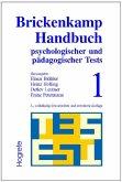 Brickenkamp Handbuch psychologischer und pädagogischer Tests, 2 Bde., Bd.1 (eBook, PDF)