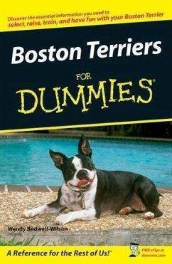 Boston Terriers For Dummies (eBook, ePUB) - Bedwell-Wilson, Wendy