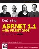 Beginning ASP.NET 1.1 with VB.NET 2003 (eBook, PDF)