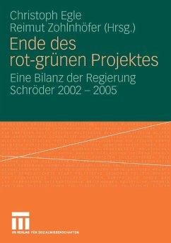 Ende des rot-grünen Projekts (eBook, PDF)