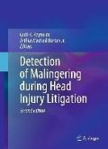 Detection of Malingering during Head Injury Litigation (eBook, PDF)