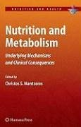 Nutrition and Metabolism (eBook, PDF)