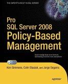 Pro SQL Server 2008 Policy-Based Management (eBook, PDF)