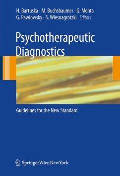 Psychotherapeutic Diagnostics (eBook, PDF)