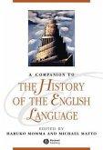 A Companion to the History of the English Language (eBook, PDF)