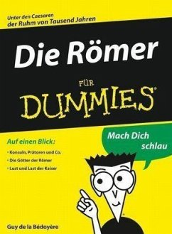 Die Römer für Dummies (eBook, ePUB) - De La Bedoyere, Guy