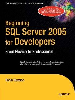 Beginning SQL Server 2005 for Developers (eBook, PDF) - Dewson, Robin