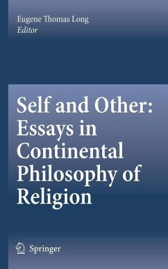 Self and Other: Essays in Continental Philosophy of Religion (eBook, PDF)