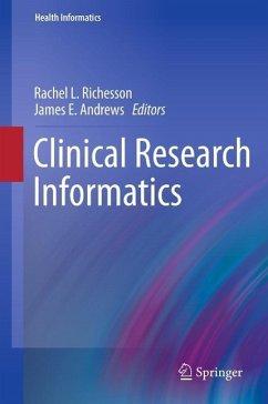 Clinical Research Informatics (eBook, PDF)