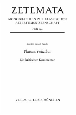Platons Politikos (eBook, PDF) - Seeck, Gustav Adolf