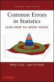 Common Errors in Statistics (and How to Avoid Them) (eBook, ePUB)