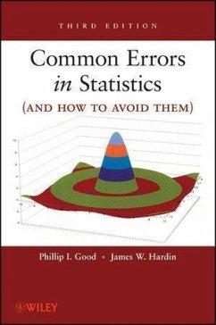 Common Errors in Statistics (and How to Avoid Them) (eBook, ePUB) - Good, Phillip I.; Hardin, James W.