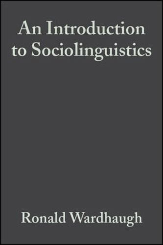 Introduction To Sociolinguistics Pdf