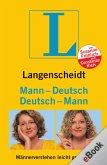 Langenscheidt Mann-Deutsch/Deutsch-Mann (eBook, ePUB)