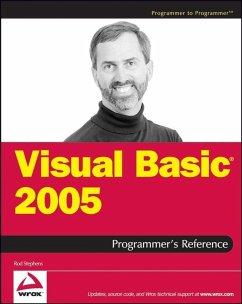Visual Basic 2005 Programmer's Reference (eBook, PDF) - Stephens, Rod