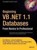 Beginning VB .NET 1.1 Databases (eBook, PDF)