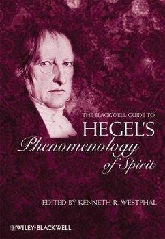 The Blackwell Guide to Hegel's Phenomenology of Spirit (eBook, PDF)