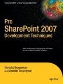 Pro SharePoint 2007 Development Techniques (eBook, PDF)