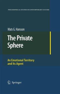The Private Sphere (eBook, PDF) - Hansson, Mats G.