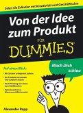 Von der Idee zum Produkt für Dummies (eBook, ePUB)