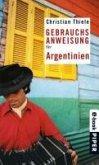 Gebrauchsanweisung für Argentinien (eBook, ePUB)