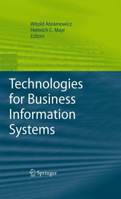 Technologies for Business Information Systems (eBook, PDF)