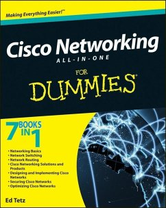 Cisco Networking All-in-One For Dummies (eBook, ePUB) - Tetz, Edward