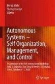 Autonomous Systems - Self-Organization, Management, and Control (eBook, PDF)