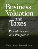 Business Valuation and Taxes (eBook, PDF)