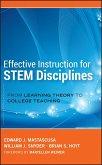 Effective Instruction for STEM Disciplines (eBook, PDF)