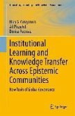 Institutional Learning and Knowledge Transfer Across Epistemic Communities (eBook, PDF)