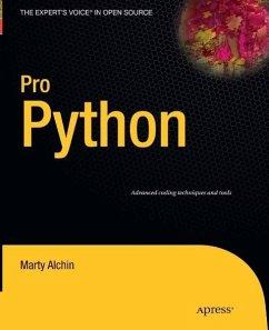 Pro Python (eBook, PDF) - Alchin, Marty