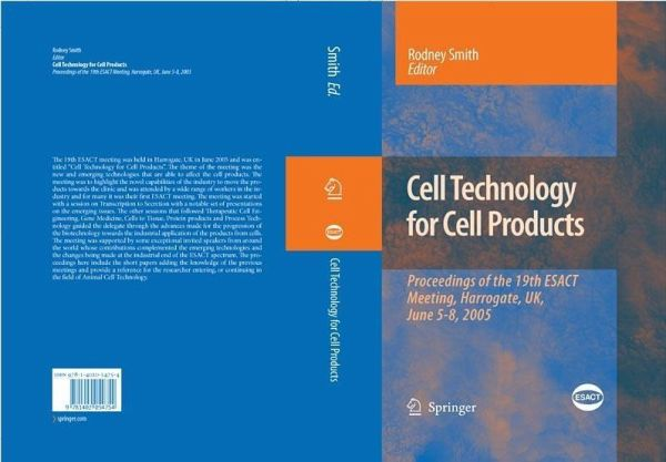 Cell Technology For Cell Products Ebook Pdf